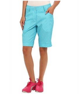 PUMA Golf Pattern Bermuda Short Womens Shorts (Blue)