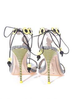 Yaya polka dot and stripe sandals  Sophia Webster  MATCHESFA