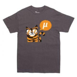 Rocket Factory NERD CAT SAYS MU Men's T shirt: Clothing