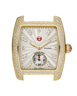 Urban Mini Diamond Watch Head, Gold   MICHELE   Gold
