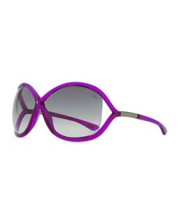 Whitney Bold Sunglasses, Magenta   Tom Ford   Magenta