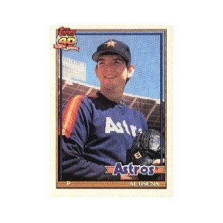 1991 Topps #149 Al Osuna UER RC (Shown throwing right, but bio says lefty) at 's Sports Collectibles Store
