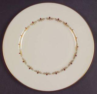 Lenox China Romance Salad Plate, Fine China Dinnerware   Rosebuds Inner Ring, Go