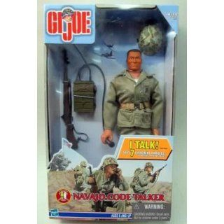 Gi Joe 12 Inch Navajo Indian Navaho Code Talker Figure: Says 7 Different Phrases! In Najavo Code and English!: Toys & Games