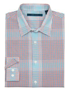 Perry Ellis Mens Large Ombre Check Shirt