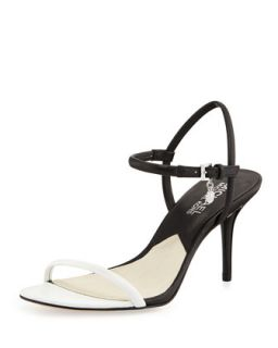 Carlene Naked Sandal   MICHAEL Michael Kors   Optic white/Blk (41.0B/11.0B)