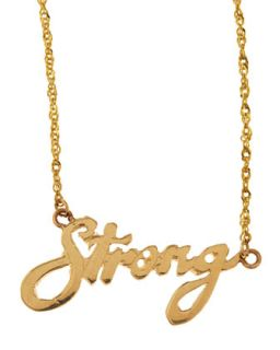 Mini Strong 14k Gold Necklace   Lana   Gold (14k )