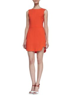Womens Ford Sleeveless Dress   A.L.C.   Orange (6)