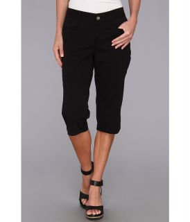 Dockers Misses Five Pocket Capri Womens Capri (Black)