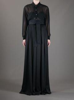 Lanvin High waisted Maxi Skirt