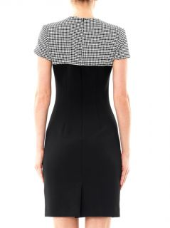 Basket weave panel dress  L'Agence