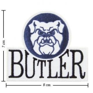 Butler Bulldogs Logo Embroidered Iron Patches: Clothing