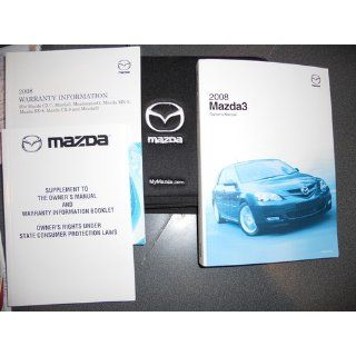 2008 Mazda 3 Owners Manual Mazda Books