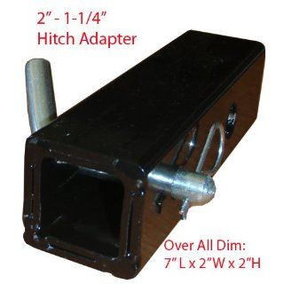"""2"""" To 1 1/4"""" Hitch Receiver Adapter Industrial & Scientific"""