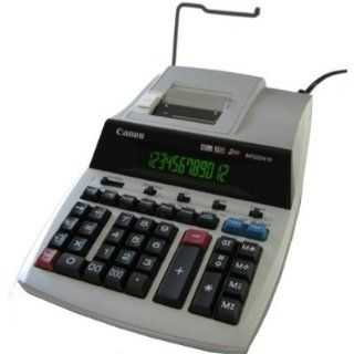 Canon Electronic MP20DH III12 Digit 2 Color High Speed Printout Calculator  Printing Calculators  Electronics