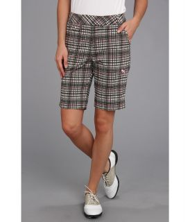 PUMA Golf Plaid Tech Bermuda Short PUMA Black Plaid