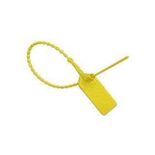 Yellow Pull Tite Security Seal (Package of 100): Industrial Seals: Industrial & Scientific