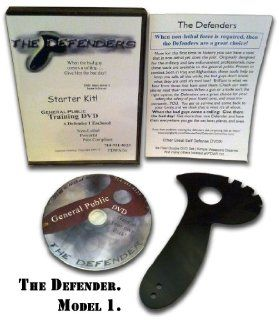The Defender 1 Personal Defense & Safety Tool   Self Defense   Legal Weapon   by Master Peter Brusso   As Seen in Men Who Stare At Goats Movie w/ George Clooney. Now : Tactical Knives : Sports & Outdoors