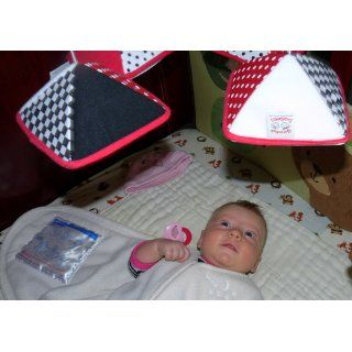 Musical Infant Stimulation   Black, White & Red Mobile : Baby Musical Toys : Baby