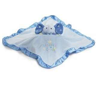 Heaven Sent Patrick Blue Elephant   Baby Security Blanket : Baby Bedding Gift Sets : Baby