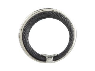 Charriol Ring Celtic Noir 02 52 0706 11 Black Cable White Gold