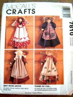 "McCall's Crafts Pattern 7810 ~ Sent From Above 22"" Angel Doll with Seasonal Wardrobe by Faye Wine"