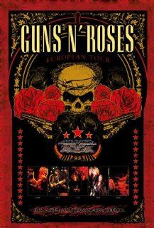 Guns n' Roses European Tour repro POSTER 23.5 x 34 Axl Rose Chinese Democracy Slash great (sent from USA in PVC pipe) : Prints : Everything Else