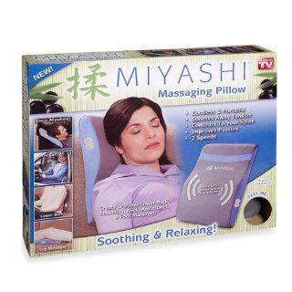 Idea Village Products MIYASHI Massaging Pillow, As Seen on TV   Quantity 1: Health & Personal Care
