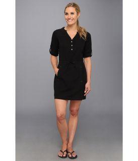 Royal Robbins Cool Mesh Shirt Dress Jet Black