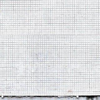 E021401 6 Foto Tapete Vlies Wandbild Mosaik Kacheln wei� Vintage: Baumarkt