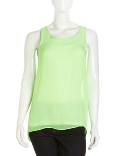 Hi Low Tunic, Neon Lime