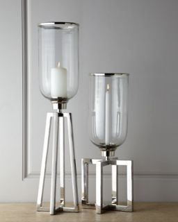 Tall Structured Candle Stand   John Richard Collection