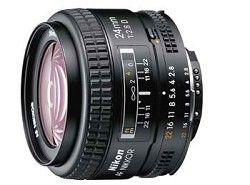 Nikon 24mm F/2.8D AF Lens, With Nikon 5 Year USA Warranty