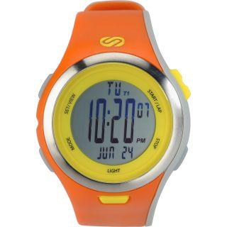SOLEUS Mens Ultra Sole Running Watch   Size L, Orange/yellow