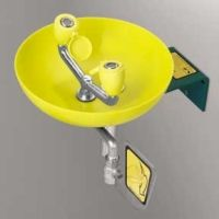 Speakman SE 580 Stainless steel & yellow plastic Traditional Series Round Bowl E