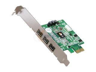 SIIG Model NN FW0012 S1 PCI Express to 1394 Card  Add On Card