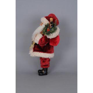 Karen Didion Originals Christmas Merry Christmas Santa Figurine