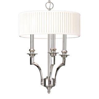 Mercer 3 Light Drum Pendant by Hudson Valley Lighting