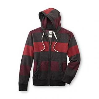 Roebuck & Co. Young Mens Hoodie Jacket   Striped   Clothing, Shoes