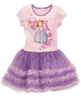 Disney Little Girls Sophia the First Tutu Dress   Kids