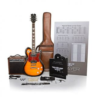 Keith Urban 50 piece Deluxe PLAYER Solid Body Electric Guitar Package   7544145