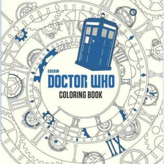 doctor who coloring book - Netters Anatomy Coloring Book