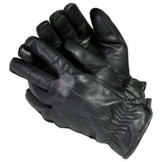 Isotoner Mens Streach Leather Gloves   16721940