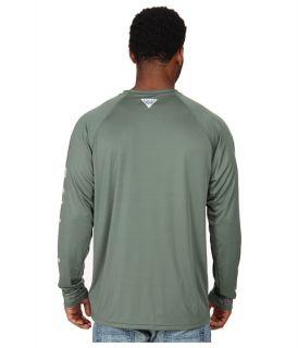 Columbia Terminal Tackle™ L/S Shirt Commando/Cool Grey Logo