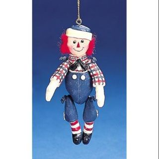 "Raggedy Andy Marionette Christmas Ornament 4"" #RA0008"