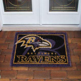 Baltimore Ravens 18 x 30 Coir Welcome Mat