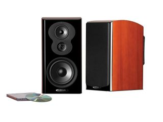 Polk Audio LSiM703 Bookshelf Loudspeaker   Each (Mt. Vernon Cherry)