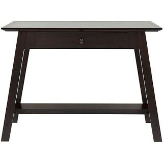 Comfort Products Coublo Writing Style Desk, Dark Mocha Brown
