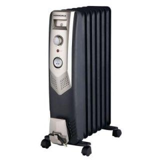 1,500 Watt Oil Free Radiant Portable Heater DISCONTINUED WY05 7