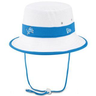 Detroit Lions New Era On Field Training Camp Bucket Hat   White